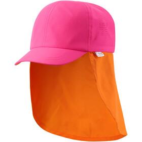 Reima Tropisk Casquette cache-nuque Enfant, berry pink